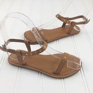 Gap Girls size 12 Sandals Brown